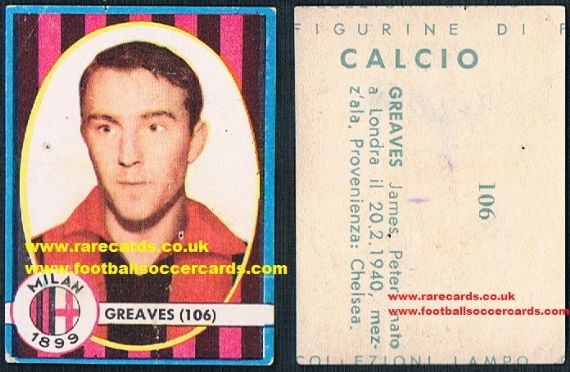 1961 Jimmy Greaves 106 Lampo